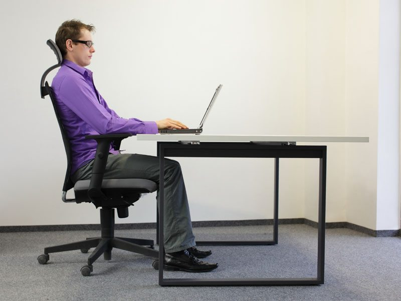 How To Sit At Your Computer Desk Complete Rehab